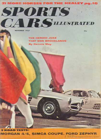 Sports Car Illustrated - November 1957