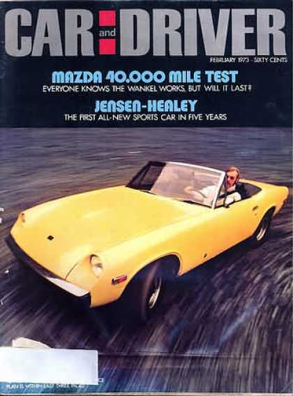 Sports Car Illustrated - February 1973