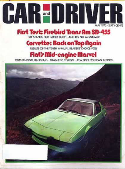 Sports Car Illustrated - May 1973