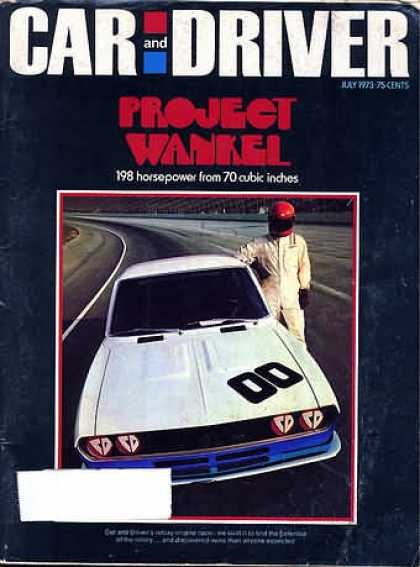 Sports Car Illustrated - July 1973