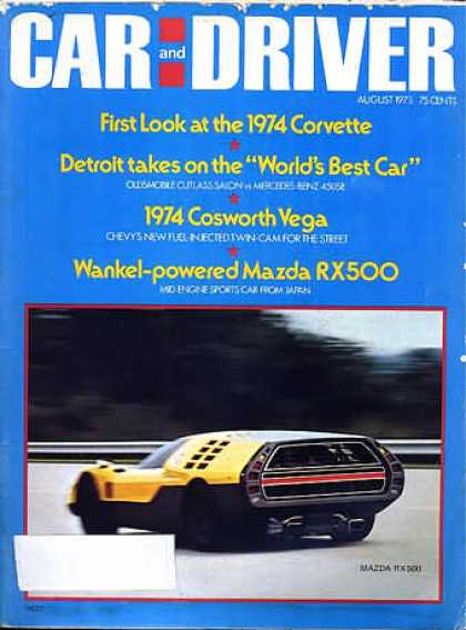 Sports Car Illustrated - August 1973