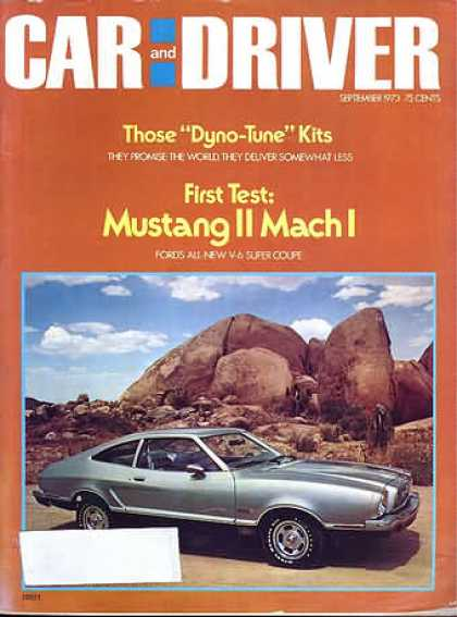 Sports Car Illustrated - September 1973