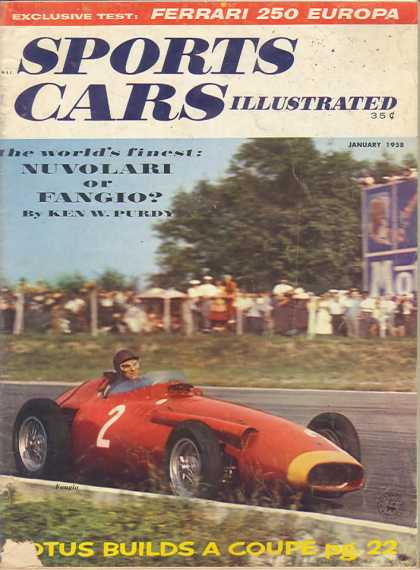 Sports Car Illustrated - January 1958