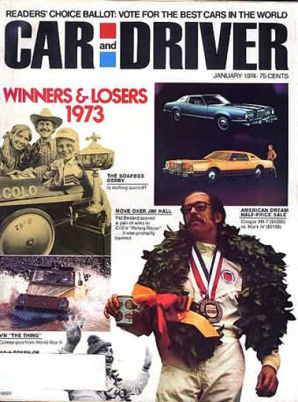 Sports Car Illustrated - January 1974