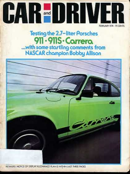 Sports Car Illustrated - February 1974