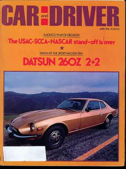 Sports Car Illustrated - April 1974