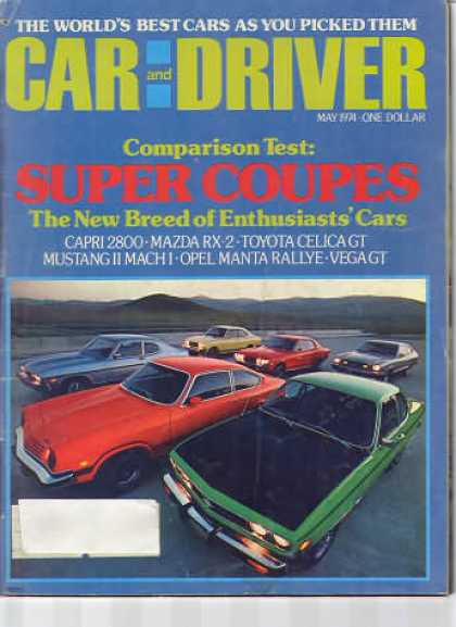 Sports Car Illustrated - May 1974