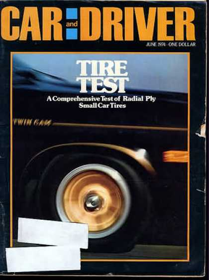 Sports Car Illustrated - June 1974