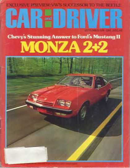 Sports Car Illustrated - September 1974