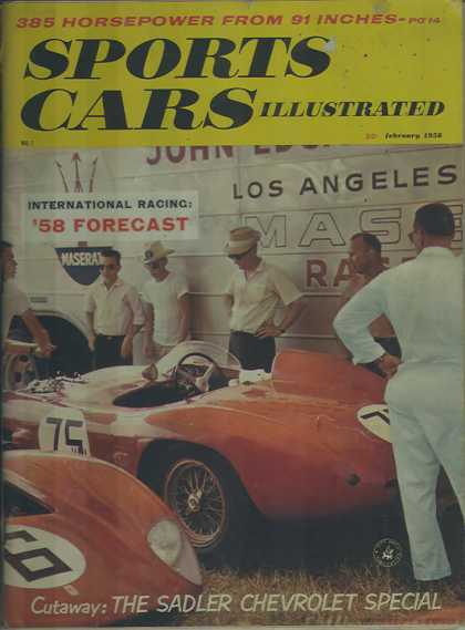Sports Car Illustrated - February 1958