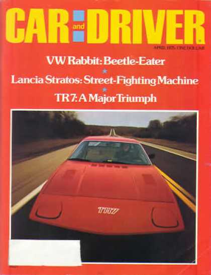 Sports Car Illustrated - April 1975