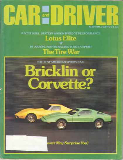 Sports Car Illustrated - May 1975