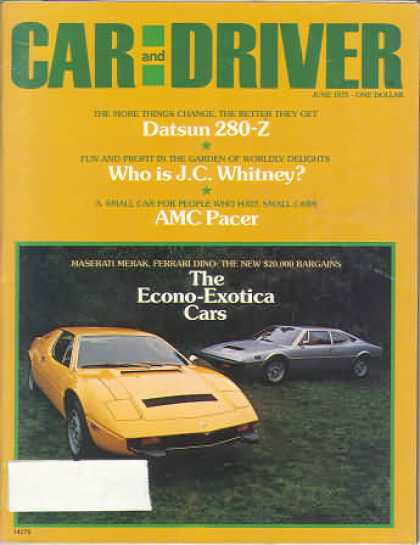 Sports Car Illustrated - June 1975