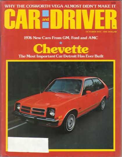 Sports Car Illustrated - October 1975