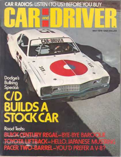 Sports Car Illustrated - May 1976