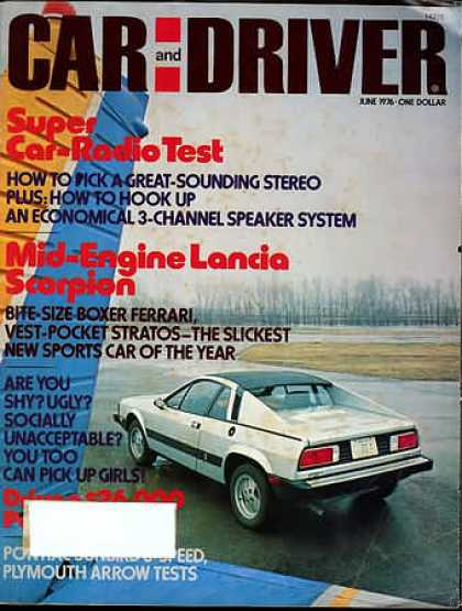 Sports Car Illustrated - June 1976