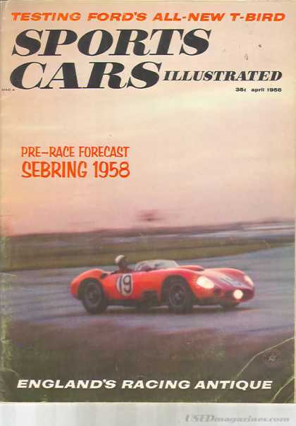 Sports Car Illustrated - April 1958