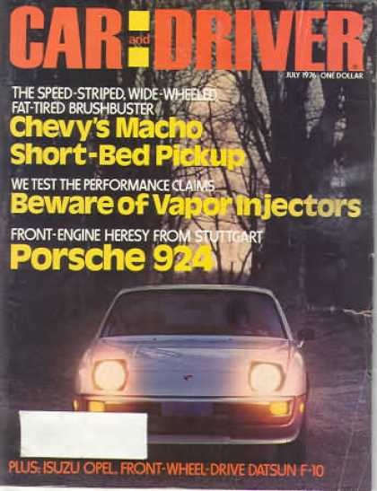 Sports Car Illustrated - July 1976