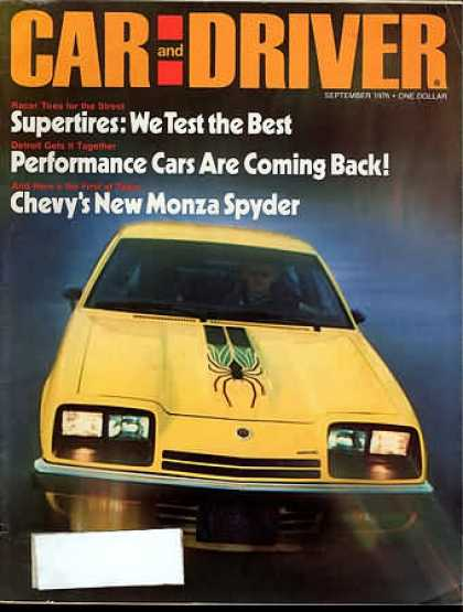 Sports Car Illustrated - September 1976