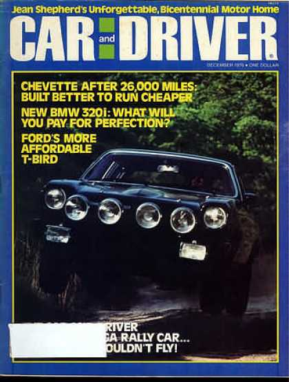 Sports Car Illustrated - December 1976