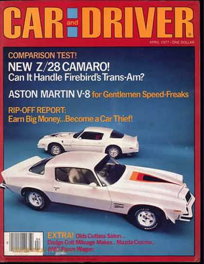Sports Car Illustrated - April 1977