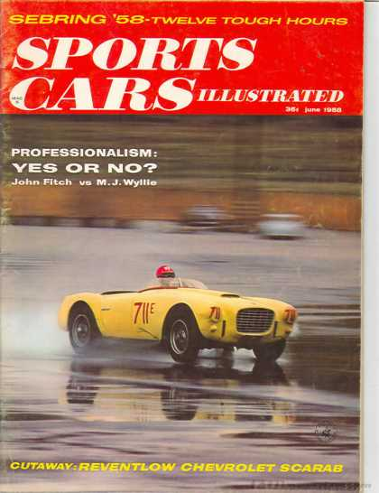 Sports Car Illustrated - June 1958