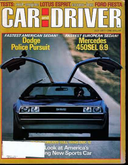 Sports Car Illustrated - July 1977