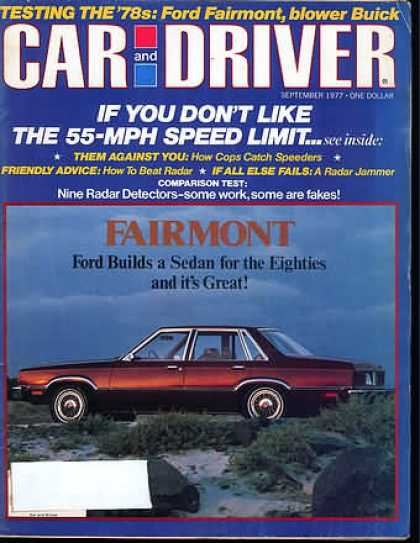 Sports Car Illustrated - September 1977