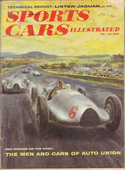 Sports Car Illustrated - July 1958
