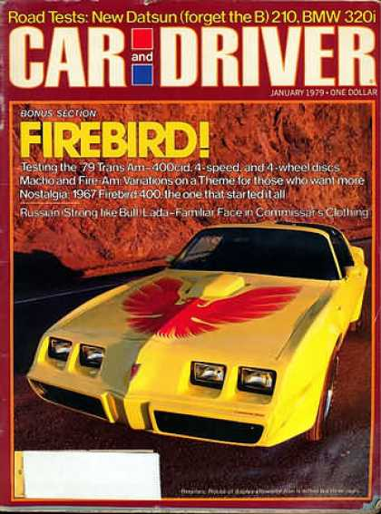 Sports Car Illustrated - January 1979