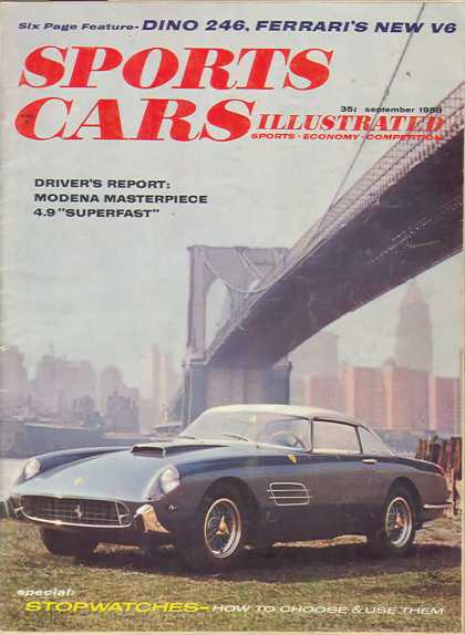 Sports Car Illustrated - September 1958