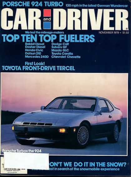 Sports Car Illustrated - November 1979