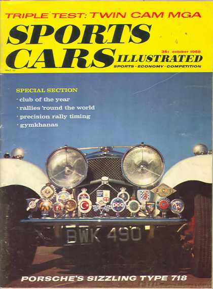 Sports Car Illustrated - October 1958