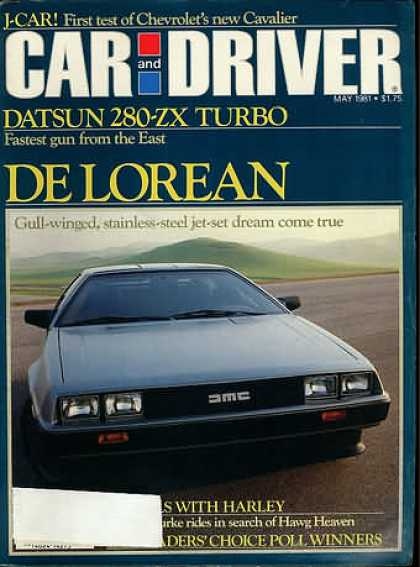 Sports Car Illustrated - May 1981