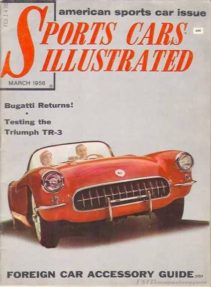Sports Car Illustrated - March 1956