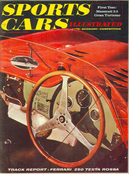 Sports Car Illustrated - November 1958