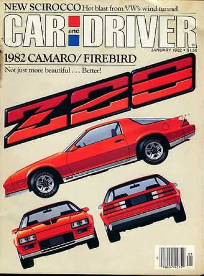 Sports Car Illustrated - January 1982