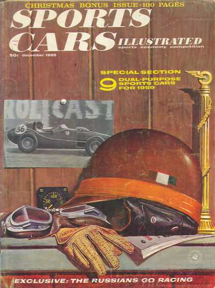 Sports Car Illustrated - December 1958