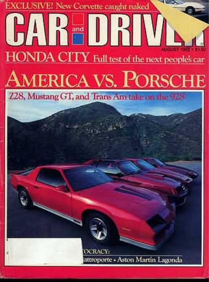 Sports Car Illustrated - August 1982
