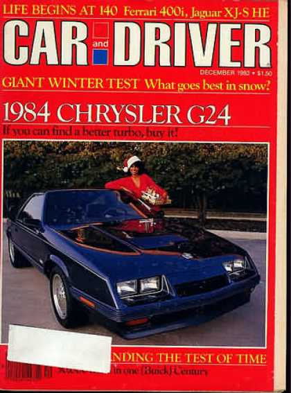 Sports Car Illustrated - December 1982