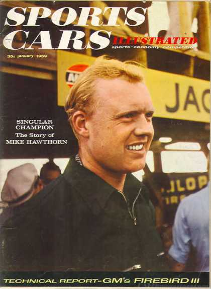 Sports Car Illustrated - January 1959