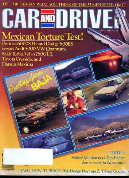 Sports Car Illustrated - July 1983