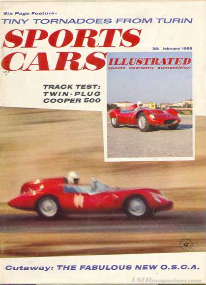 Sports Car Illustrated - February 1959