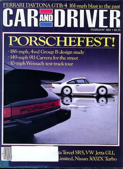 Sports Car Illustrated - February 1984