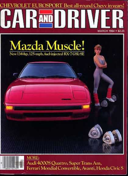Sports Car Illustrated - March 1984