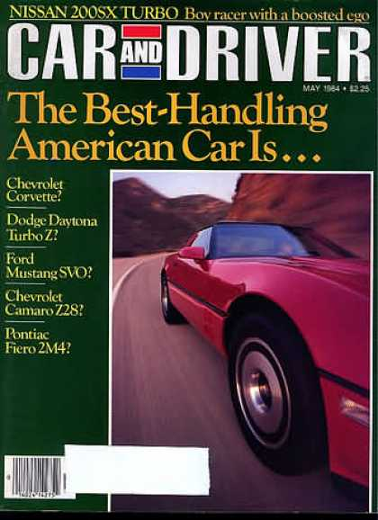 Sports Car Illustrated - May 1984