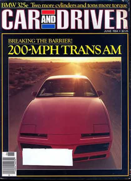 Sports Car Illustrated - June 1984