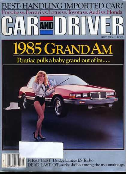 Sports Car Illustrated - July 1984