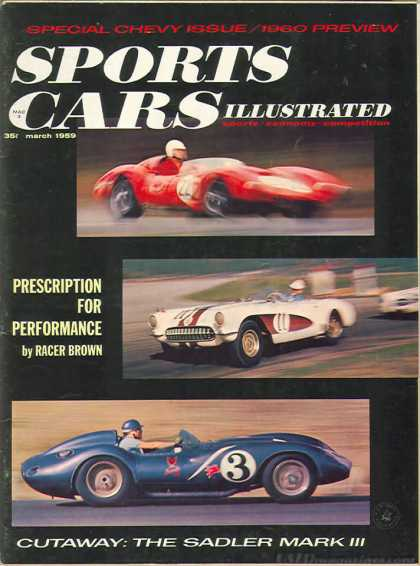 Sports Car Illustrated - March 1959