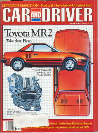Sports Car Illustrated - February 1985